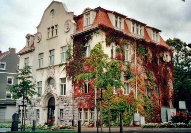 Das ehemalige Amtshaus
