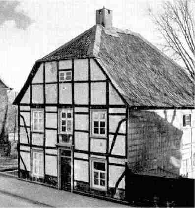 Das Geburtshaus von F. L. Woeste